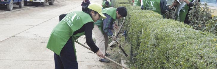 Voluntariado es generar cambios