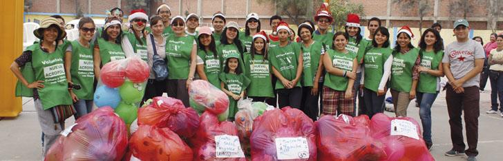 Voluntariado es unir esfuerzos